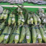 夏野菜が並びはじめました。