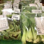 """中川村""""はっぱ屋""""さんの葉野菜色々揃ってます。"""