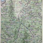 長野県の道ゆき県別マップ。